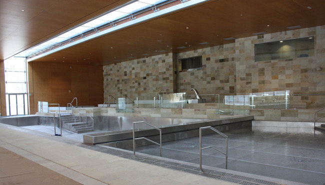 Water State Control of Landako Pools (Durango, Spain)